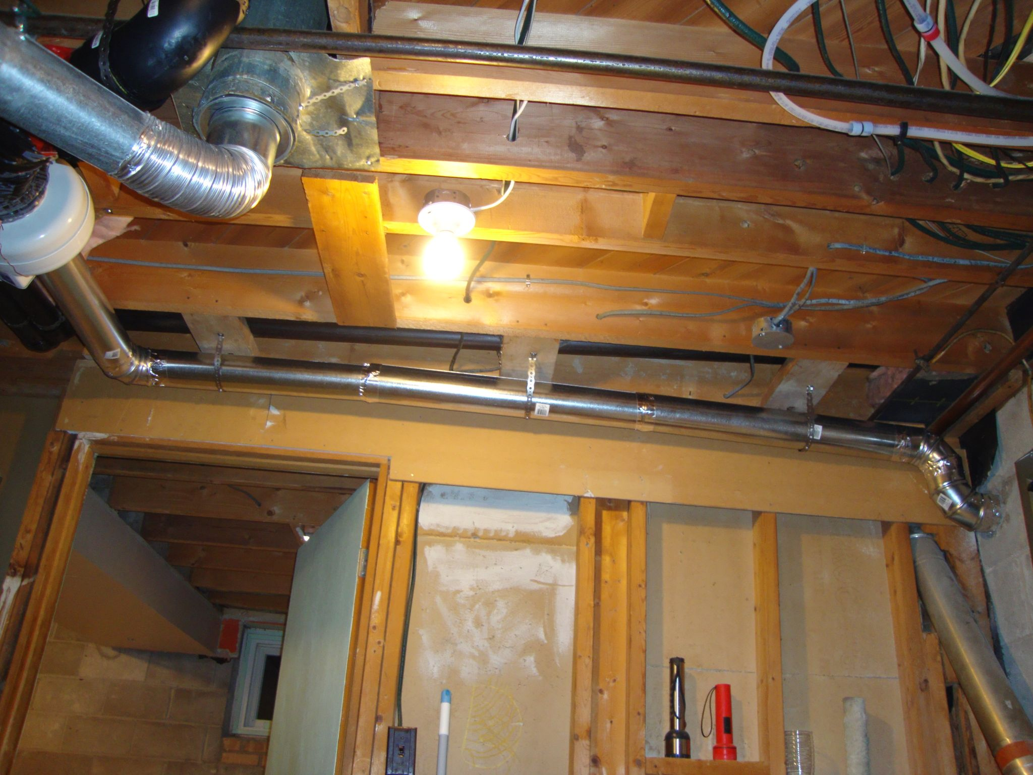 Bathroom fan venting into attic - This Image Has Been Resized Click This Bar To View The Full Image