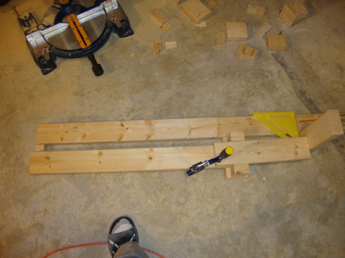Jig I made to quickly measure for studs