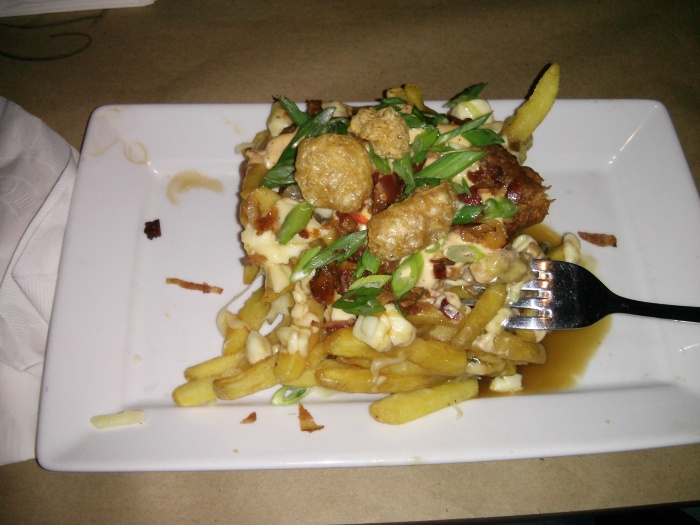 Poutine at Jack Astor's