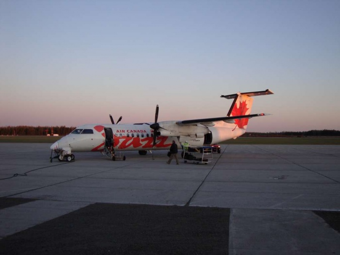 Plane from Timmins to Toronto