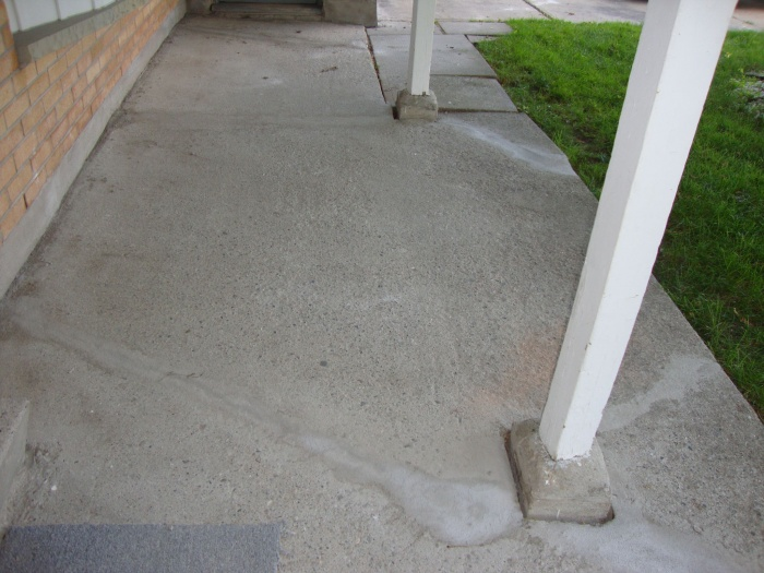 Cement cracks fixed